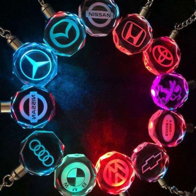 Breloc Logo-Auto LED